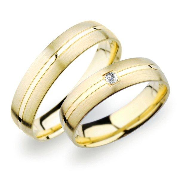 SP-249 Snubní prsteny ze žlutého zlata SP-249Z