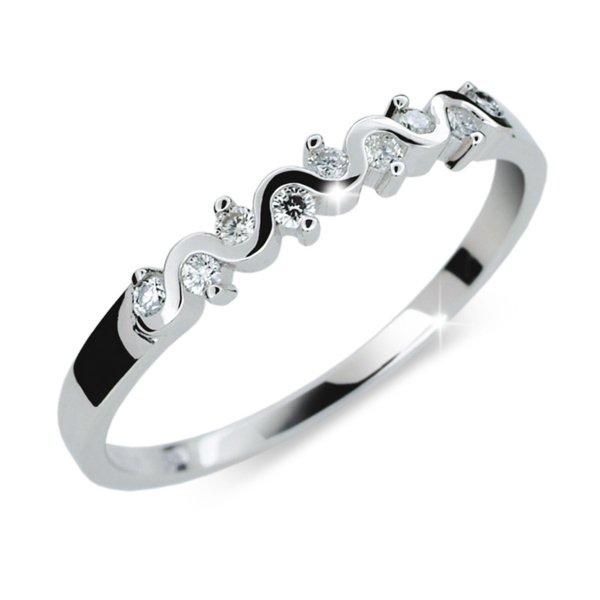 Zásnubní prsten s diamanty ZP2086D