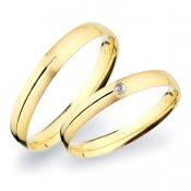 Snubní prsteny zlaté SP-261Z