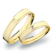 Zlaté snubní prsteny SP-263Z