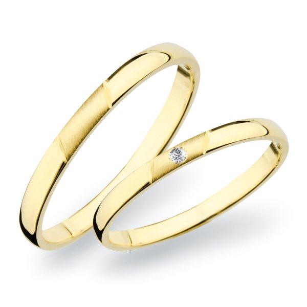Snubní prsteny zlaté SP-265Z