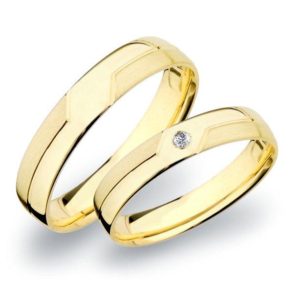 Snubní prsteny zlaté SP-267Z