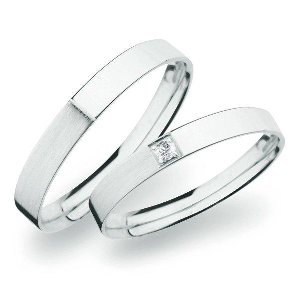 Snubní prsteny ze zlata SP-264B