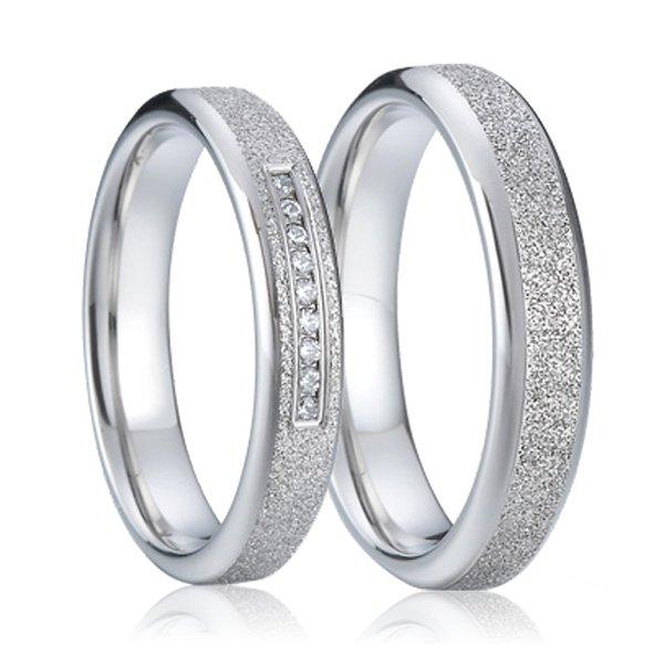 SP-7003 Ocelové snubní prsteny SP-7003