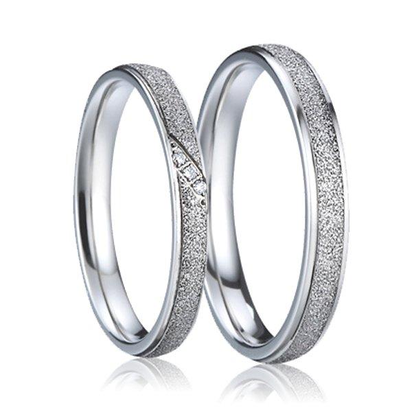 SP-7007 Ocelové snubní prsteny SP-7007
