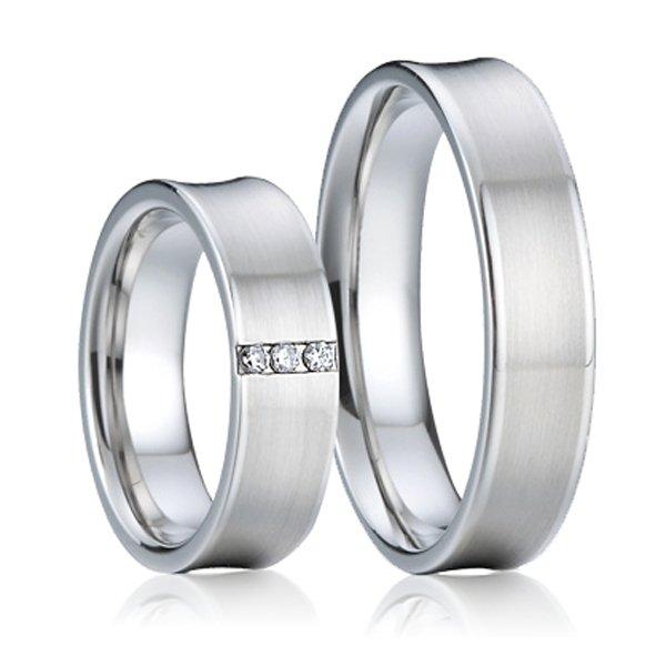 SP-7006 Ocelové snubní prsteny SP-7006