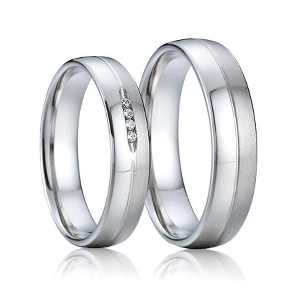 SP-7011 Ocelové snubní prsteny SP-7011