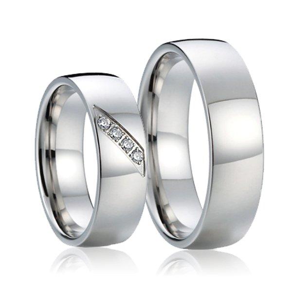 SP-7017 Snubní prsteny ocelové SP-7017
