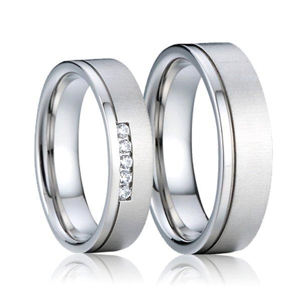 SP-7012 Ocelové snubní prsteny SP-7012
