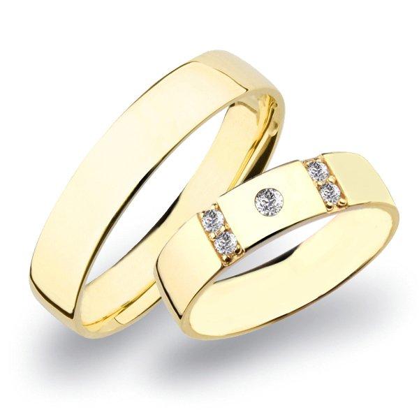SP-272 Zlaté snubní prsteny SP-272Z