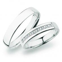 SP-276 Zlaté snubní prsteny SP-276B
