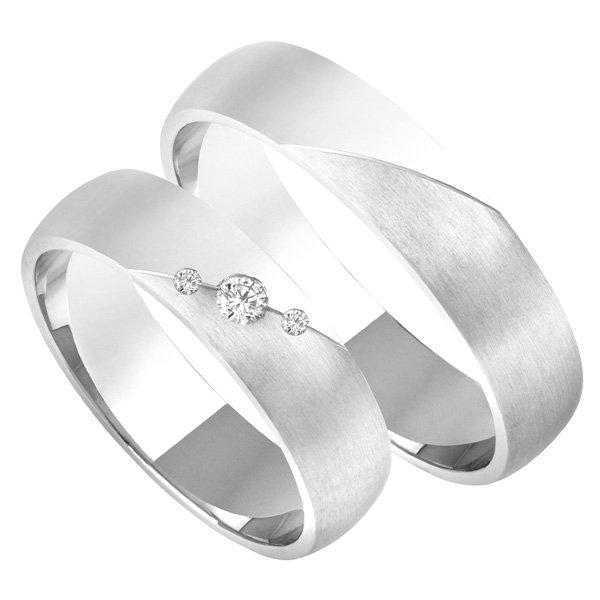 Zlaté snubní prsteny SP-211