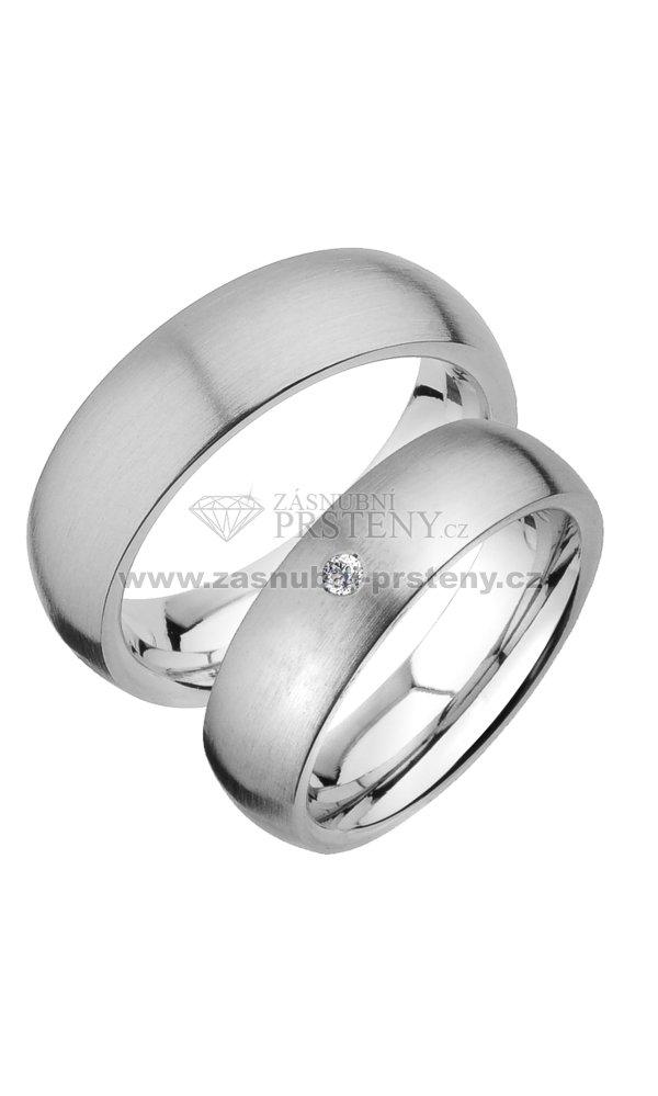 f25ce6874 Snubní prsteny chirurgická ocel SPTS123 SPTS123 : Zasnubni-prsteny.cz