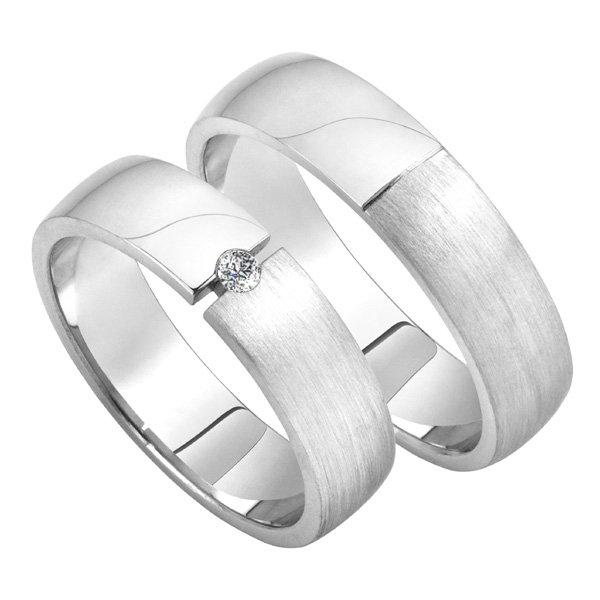 Zlaté snubní prsteny SP-206