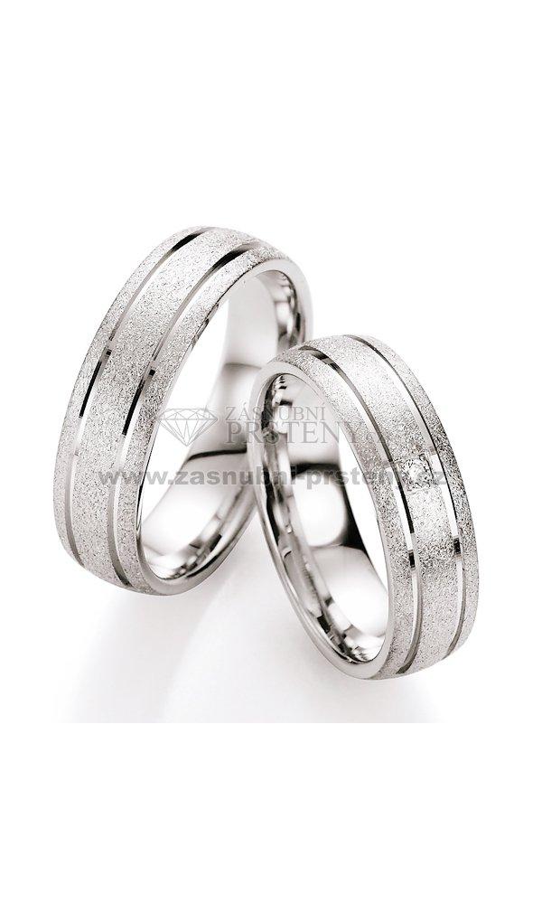 Snubni Prsteny Stribrne S Diamantem S10090 S10090 Zasnubni Prsteny Cz