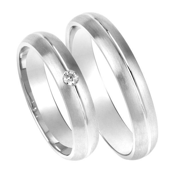Zlaté snubní prsteny SP-200B