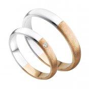 Zlaté snubní prsteny SP-203