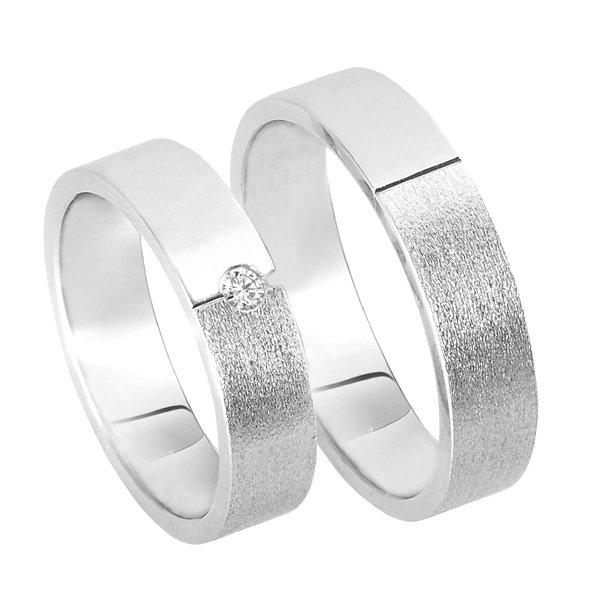 Zlaté snubní prsteny SP-205