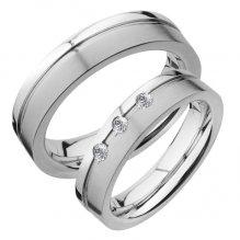 Snubní prsteny chirurgická ocel SPTS129-3 SPTS129-3