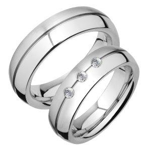 Snubní prsteny chirurgická ocel SPTS131-3 SPTS131-3LM