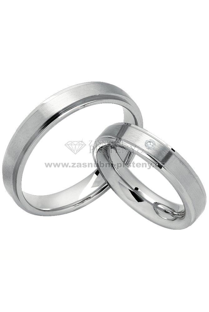 0c755945e Snubní prsteny chirurgická ocel SPTS124 SPTS124 : Zasnubni-prsteny.cz